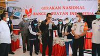 Menteri Perhubungan (Menhub) Budi Karya Sumadi melakukan kunjungan kerja ke Terminal Kampung Rambutan, Minggu, 24 Januari 2021. Dok Kemenhub