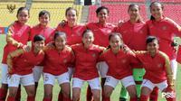 Timnas putri U-16 Indonesia tampil di kualifikasi Piala AFC U-16 2019 di Kirgizstan. (Bola.com/Dok. PSSI)