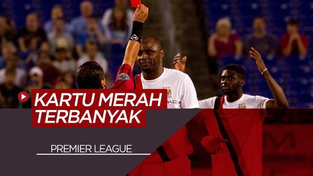 Berita Video Patrick Vieira dan 6 Pemain yang Mengoleksi Kartu Merah Terbanyak Sepanjang Sejarah Premier League