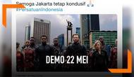 Warganet berencana memanggil pasukan Avengers dan Thanos untuk mengamankan situasi Jakarta pada demostrasi 22 Mei 2019.