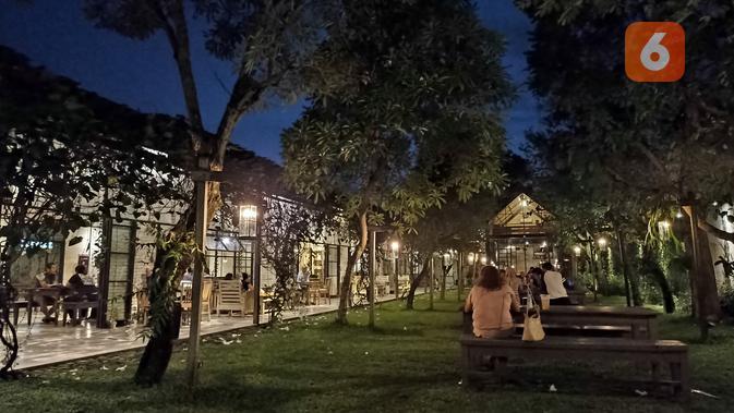 Hasil foto Redmi Note 10S malam hari dengan Night Mode. (Liputan6.com/ Agustin Setyo W)