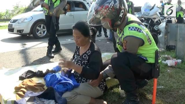 Korban diduga mengalami kelelahan dan berjam-jam menahan kencing karena sulit menjangkau rest area.