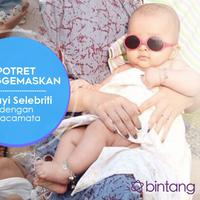 Potret Menggemaskan 5 Bayi Selebriti dengan Kacamata. (Desain: Nurman Abdul Hakim/Bintang.com)