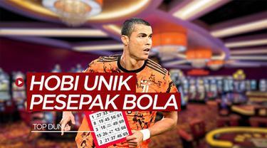 Berita video sportbites yang membahas tentang pesepak bola yang memiliki hobi unik dari Cristiano Ronaldo hingga David Beckham