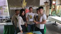 Promotor tinju wanita Milasari Anggraini  (dok V's Boxong Promotions)