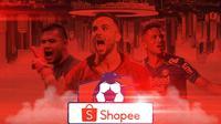 Liga 1 - Ilustrasi Suasana Kompetisi Liga Indonesia Era Jadul dan Shopee Liga 1 (Bola.com/Adreanus Titus)