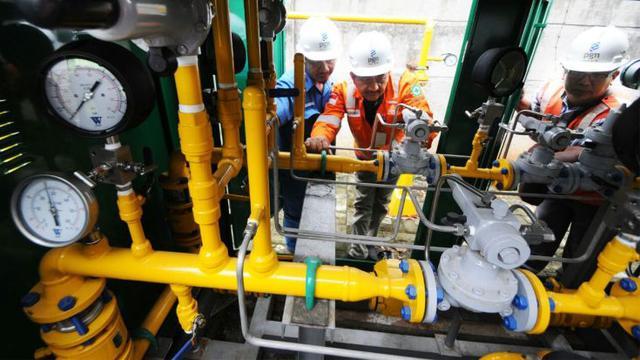 PGN kembali memperluas infrastruktur jaringan gas bumi di Semarang, Jawa Tengah.