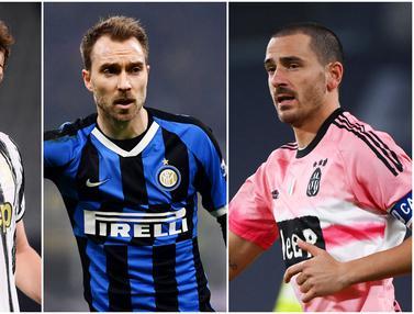 Foto: Deretan Pemain dengan Gaji Tertinggi di Liga Italia, Masih Didominasi Pemain Juventus