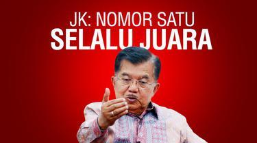Wakil Presiden Jusuf Kalla ikut menjajal Tanya Cepat setelah melakukan wawancara dengan Liputan6.com. Apa saja kira-kira jawaban Pak JK? Yuk coba kita dengar.