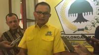 Sekjen Partai Golkar Lodewijk Freidrich Paulus, Kamis (24/10/2019). (Merdeka.com/ Muhammad Genantan Saputra)