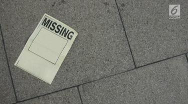 Orang Hilang atau Lenyap