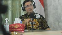 Wakil Gubernur (Wagub) Banten, Andika Hazrumy. (Selasa, 17/11/2020). (Dokumentasi Humas Banten)