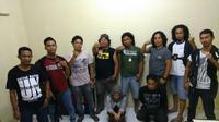 Sepasang PNS di Kabupaten Bulukumba diamankan sedang pesta narkoba (Liputan6.com/ Eka Hakim)
