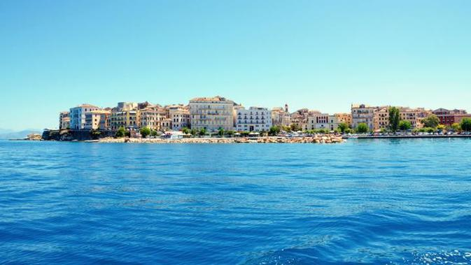 Pulau Corfu, Yunani. (AP)