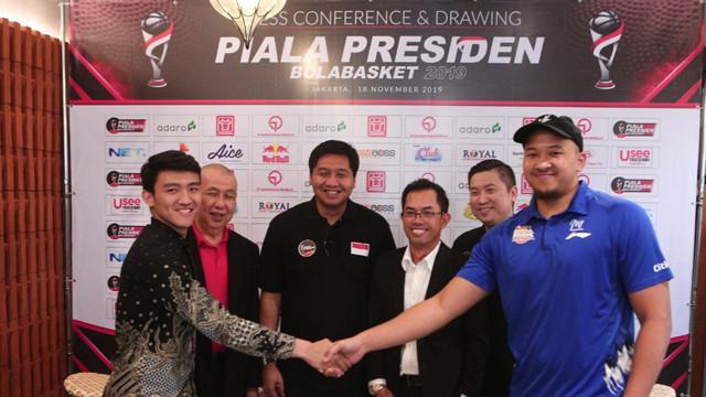 Piala Presiden Basket  Tuntas Hadiah Bakal Cair Tiga Hari