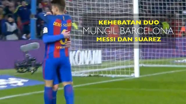 Berita video kehebatan duo mungil Barcelona, Lionel Messi dan Denis Suarez, kala lumat Real Sociedad di Copa del Rey 5-2, Kamis (26/1/2017).