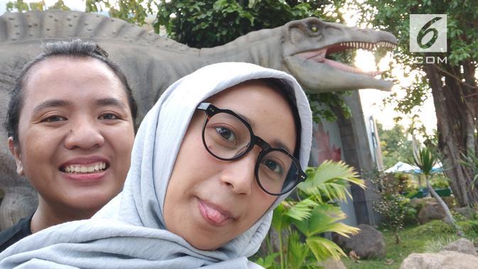 Hasil foto selfie dengan Oppo Reno 10x Zoom (Liputan6.com/ Agustin Setyo W)