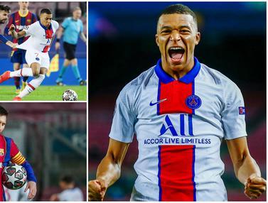 FOTO: 7 Fakta Menarik Usai Barcelona Dipecundangi PSG, Lionel Messi dan Kylian Mbappe Cetak Rekor