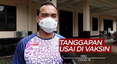 Berita Video Tanggapan Atlet-Atlet Bulutangkis Indonesia Usai Divaksin Covid-19