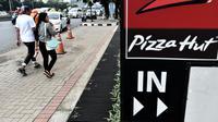 Logo Pizza Hut (AFP PHOTO / BAY ISMOYO)