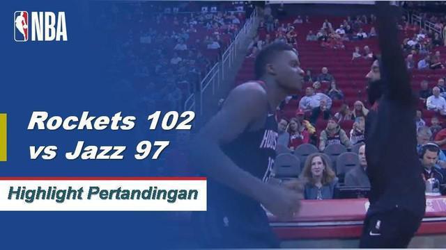 James Harden meraih 47 poin dalam kemenangan melawan Jazz 102-97