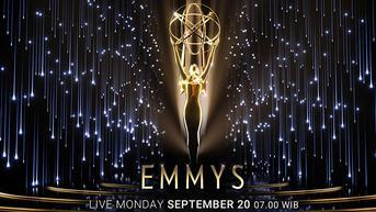 Debut IndiHome dan Catchplay+ Tayangkan Emmy Awards ke-73 Secara Live