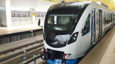 LRT Palembang penunjang Asian Games 2018 (Dok Foto: Kemenhub)