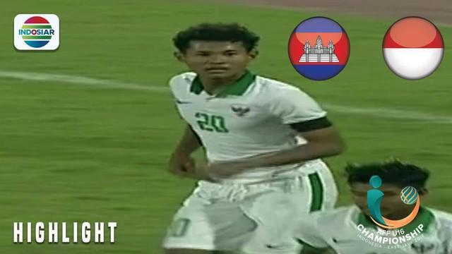 Berita video momen Bagus Kahfi hampir mencetak 4 gol dalam laga Timnas Indonesia U-16 melawan Timor Leste pada laga terakhir Grup A Piala AFF U-16 2018.