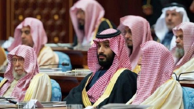 Putra mahkota Saudi, Mohammed bin Salman. (Foto: Bandar al-Jaloud / Istana Kerajaan Saudi / AFP)