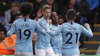 1. Manchester City - £ 1.1 Miliar (AFP/Adrian Dennis)
