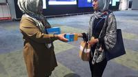 Setidaknya ada sekitar 3.700 boks menu berbuka puasa yang akan tersedia di masing-masing area. Baik itu di Terminal 1,2,3 serta area kargo Bandara Soetta.  (FOTO: Liputan6/Pramita Tristiawati)
