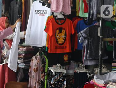 Produk Garmen Asing Mulai Banjiri Pasar Tanah Abang