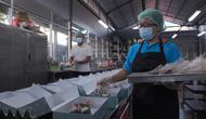 Karyawan katering yang bekerja untuk Bimo. Selama pandemi, Bimo terus berinovasi agar usaha katering miliknya tetap bisa berjalan dan dia bisa menggaji karyawan. (Foto: Liputan6.com).