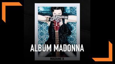 Madonna membuat kejutan dengan mengumumkan nama dan tanggal rilis album barunya di akun Instagramnya.