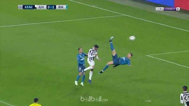 Berita video gol-gol kemenangan Real Madrid atas Juventus pada perempat final Liga Champions 2017-2018. This video presented by BallBall.