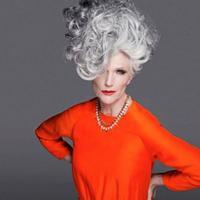 Sosok wanita inspiratif, wanita ini masih menjadi model meskipun usianya sudah 69 tahun. (Foto: Instagram @mayemusk)