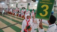 Jemaah Haji Indonesia saat tiba di Bandara King Abdulaziz, Jeddah. Darmawan/MCH