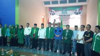Saweran Iuran Pilkada Ala Kader Partai Kabah (Liputan6.com/jayadi supriadin)