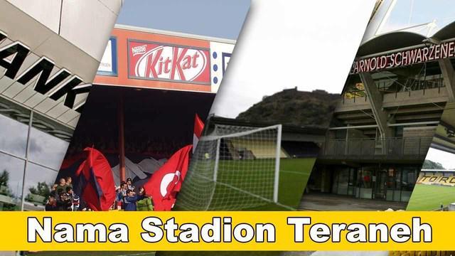 Video 5 stadion dengan nama teraneh yang salah satunya Stadion Arnold Schwarzenegger, dipakai sebagai nama stadion karena Arnold Schwarzenegger lahir di kota Graz ini.