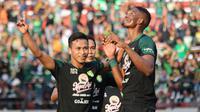 Persebaya Surabaya meraih hasil 2-2 kontra Madura United di Stadion Gelora Bung Tomo, Surabaya, Sabtu (10/8/2019). (Bola.com/Aditya Wany)