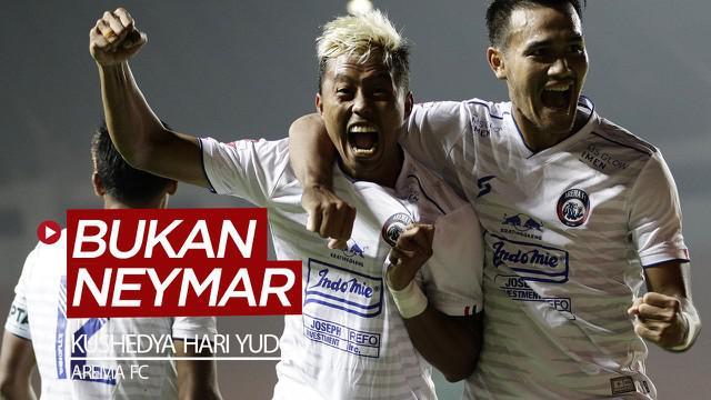 Berita video berbincang-bincang bersama striker Arema FC yang dijuluki Neymar, Kushedya Hari Yudo, soal pemain idola yang ternyata legenda Persija Jakarta dan Arsenal.