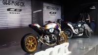 Honda CB1000R kostum mewarnai Intermot 2018. (Sigit TS/Liputan6.com)