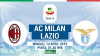 Serie A: AC Milan vs Lazio. (Bola.com/Dody Iryawan)