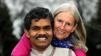 Pradyumna Kumar Mahanandia and Charlotte Von Schedvin. (Foto by Facebook Pradyumna Kumar Mahanandia)