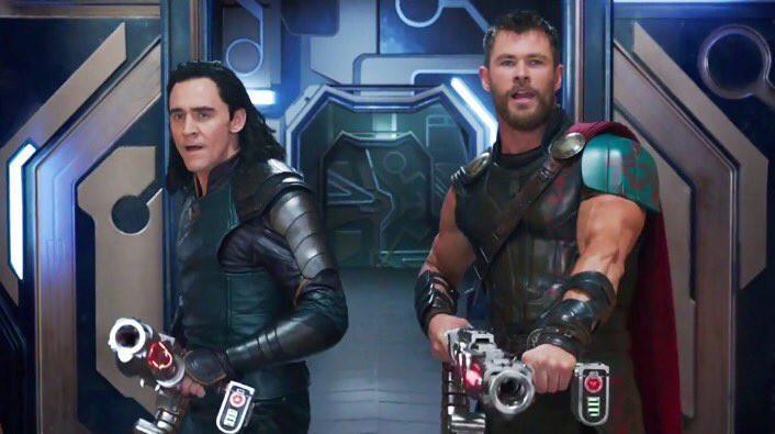 Salah satu adegan di film Thor: Ragnarok. (Marvel Studios)