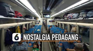 Transportasi Kereta Api Indonesia dari tahun ke tahun menunjukkan kemajuan yang begitu pesat. Keadaan ini mengingatkan dulu ketika pedagang asongan masih diperbolehkan berjualan di dalam gerbong kereta api.