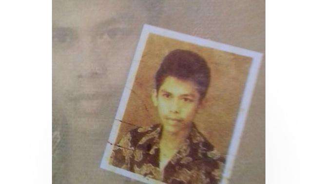 Wajah Calon Wakil Presiden Ma'ruf Amin saat masih muda. (Credit : Foto Koleksi Keluarga)