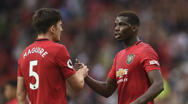 Paul Pogba - Manchester United - Harry Maguire