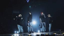 Meskipun sudah terkenal, akan tetapi grup asuhan Big Hit Entertainment ini tak meninggalkan kebiasaan mereka saat masih jadi rookie. (Foto: Soompi.com)