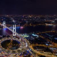 Pencahayaan dinamis dilakukan oleh Signify untuk menerangi Shanghai (Foto: Signify)
